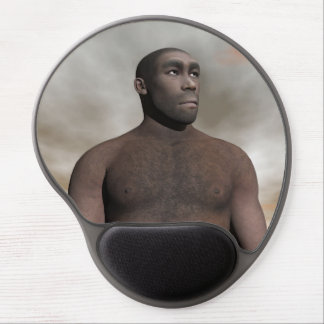 Male homo erectus - 3D render Gel Mouse Pad