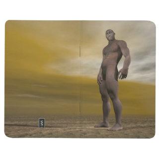 Male homo erectus - 3D render Journal