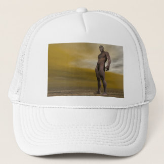 Male homo erectus - 3D render Trucker Hat