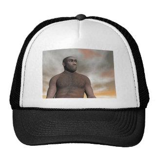 Male homo erectus cap
