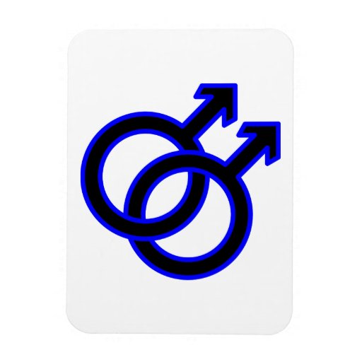 Male Homosexual Symbol Magnets
