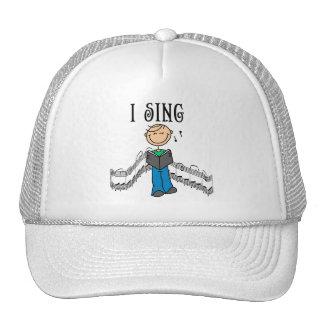 Male I Sing T-shirts and Gifts Mesh Hat