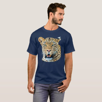 Male Leopard Portrait | African Wildlife T-Shirt