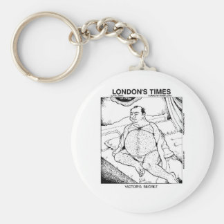 Male Lingerie Funny Gifts Tees & Collectibles Basic Round Button Key Ring