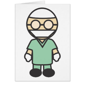 Male Medical Surgeon Card