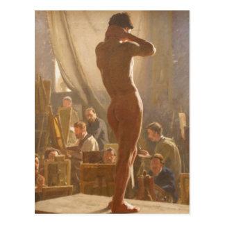 Male Nude Model Postcard