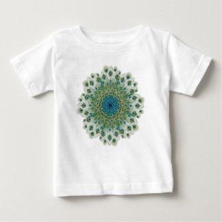 Male Peacock Colorful Mandala Baby T-Shirt