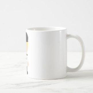 Male Pilot Basic White Mug