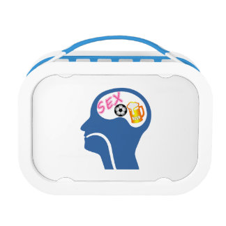 Male Psyche Lunch Box