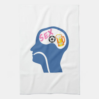 Male Psyche Tea Towel