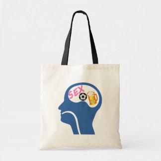 Male Psyche Tote Bag