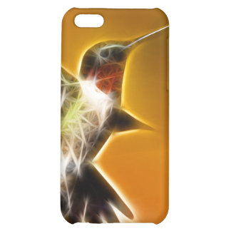 Male Ruby-throated Hummingbird iPhone 5C Cases