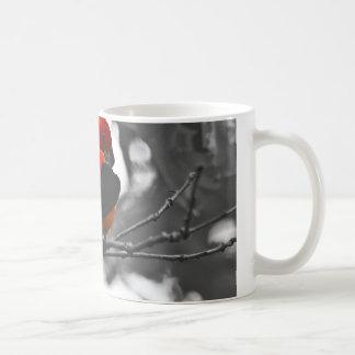 Male Scarlet Tanager Coffee Mug