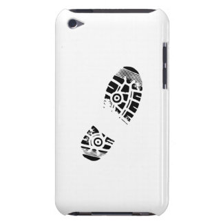 Male shoe print barely there iPod covers