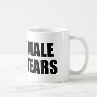 Male Tears Basic White Mug