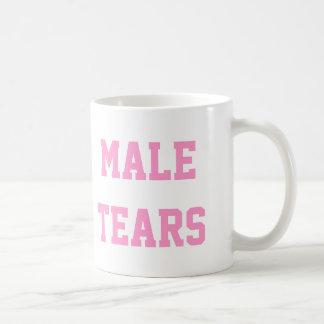 Male Tears Ironic Misandry Pink Coffee Mug