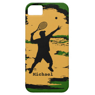 Male Tennis Player Barely There iPhone 5 Case