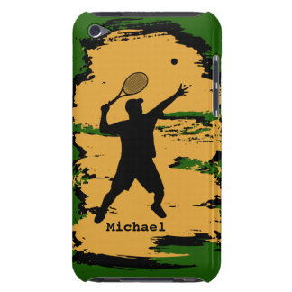 Male Tennis Player iPod  Case iPod Case-Mate Case