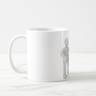 Male tire change coffee mug