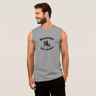 Male Warrior For Christ Sleeveless T-Shirt
