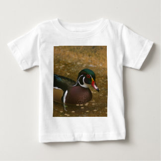 Male Wood Duck Baby T-Shirt