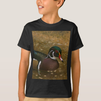 Male Wood Duck T-Shirt