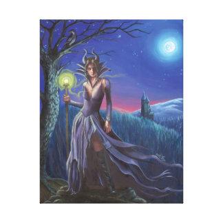 Maleficent Art Canvas Sleeping Beauty Art Villain