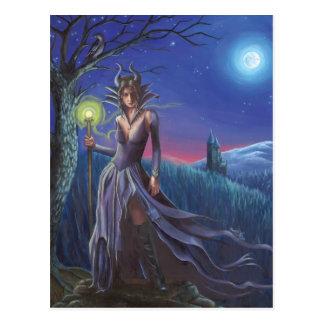 Maleficent - Postcard
