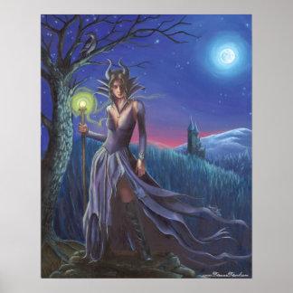 Maleficent Poster Villan Poster Sleeping Beauty