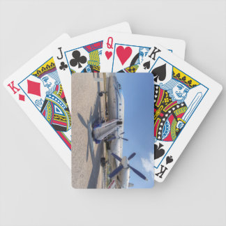 Malev Airlines Ilyushin IL-18 Bicycle Playing Cards