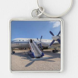 Malev Airlines Ilyushin IL-18 Key Ring