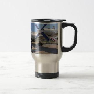 Malev Airlines Ilyushin IL-18 Travel Mug