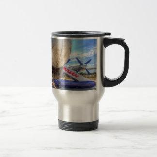 Malev Hungarian Airlines Ilyushin IL-18 Travel Mug