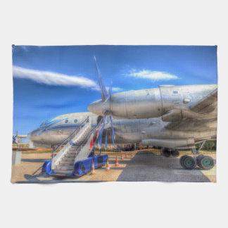 Malev  Ilyushin IL-18 Tea Towel