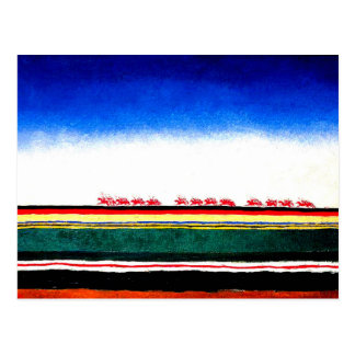 Malevich - Red Cavalry Postcard