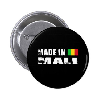 MALI 6 CM ROUND BADGE
