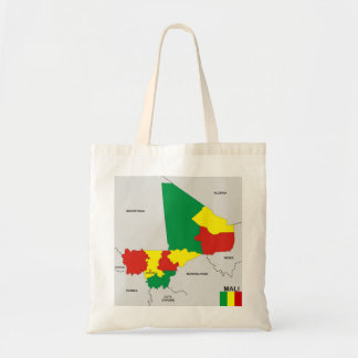 mali country political map flag bags