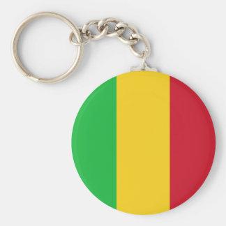 Mali Flag Key Ring