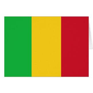 Mali Flag Note Card