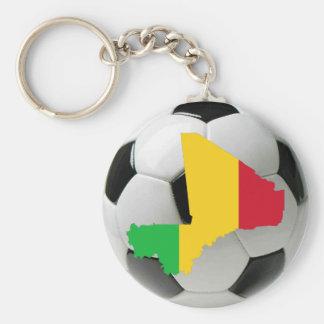 Mali football soccer keychain