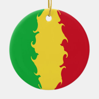 Mali Gnarly Flag Christmas Ornament