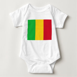 Mali National World Flag Baby Bodysuit