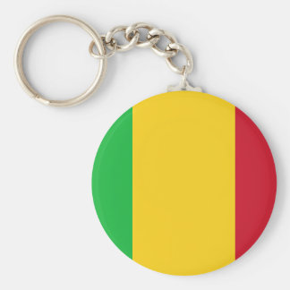 Mali National World Flag Key Ring