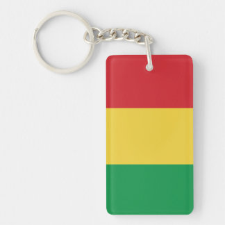 Mali Plain Flag Key Ring
