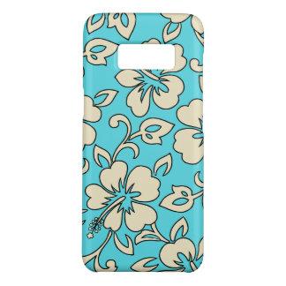 Malia Hibiscus Hawaiian Aqua Floral Case-Mate Samsung Galaxy S8 Case