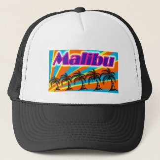 Malibu 5 Palm Trees Hat
