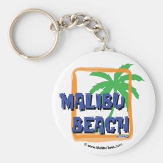 Malibu Beach Palm Tree Key Chains