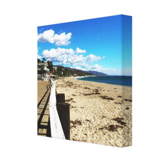 Malibu Beach Paradise Canvas Print
