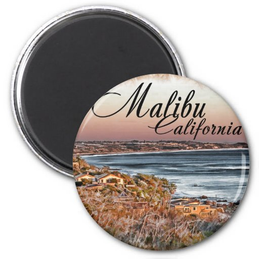 Malibu CA Magnet