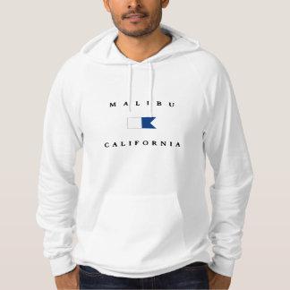 Malibu California Alpha Dive Flag Hoodie